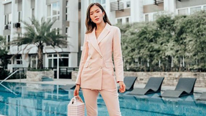 How To Wear A Suit For The Summer, According To Camille Co