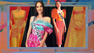 Here's How Catriona Gray Made A Case For Local Textiles At Miss Universe