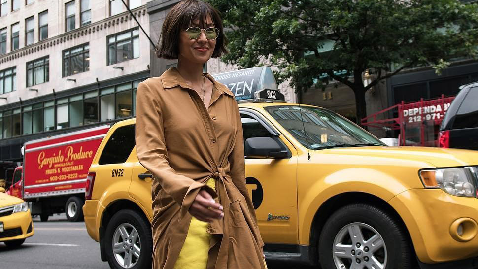 Here's a Cool Way to Style a Dress That's Become Too Small