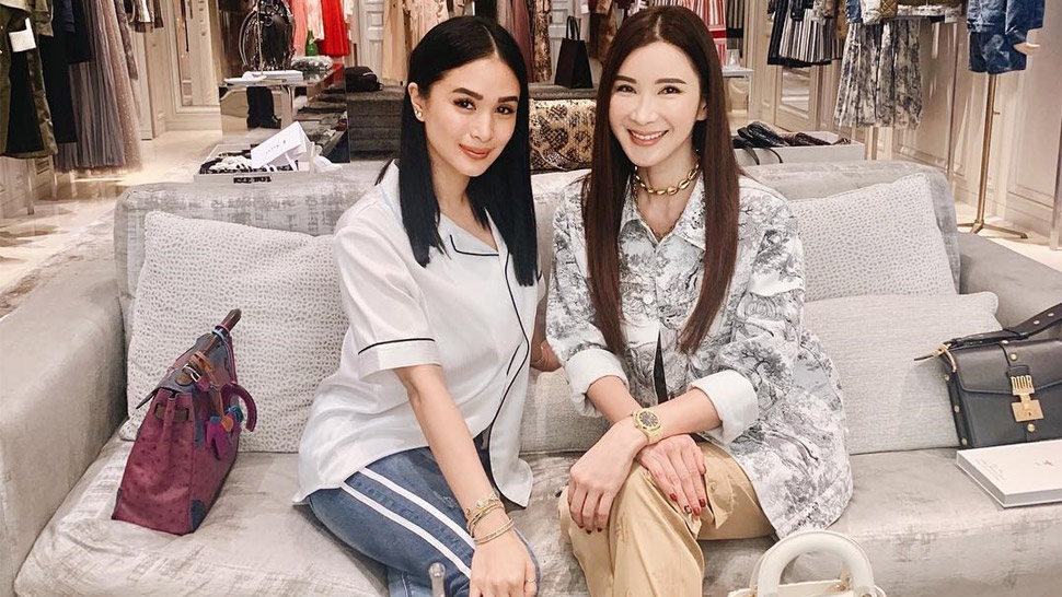 Heart Evangelista Met Up With Famous Hermes Collector Jamie Chua