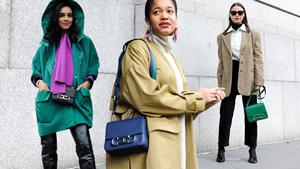 This Carolina Herrera Bag Was Everywhere At New York Fashion Week