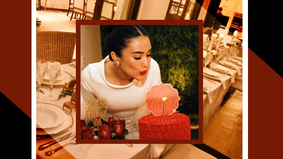 Here's How Heart Evangelista Celebrated Her Birthday