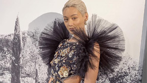 Kim Jones Looks Absolutely Glorious In Chanel Haute Couture