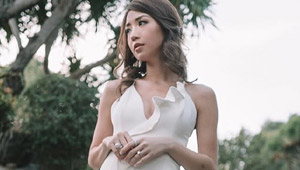 Kryz Uy Wore The Perfect Little White Dress To Her Despedida De Soltera