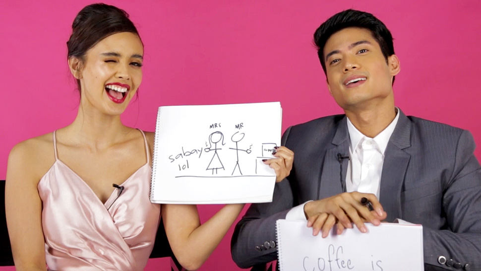 "You Have to Watch Megan Young and Mikael Daez Play ""The Newlywed Game"""