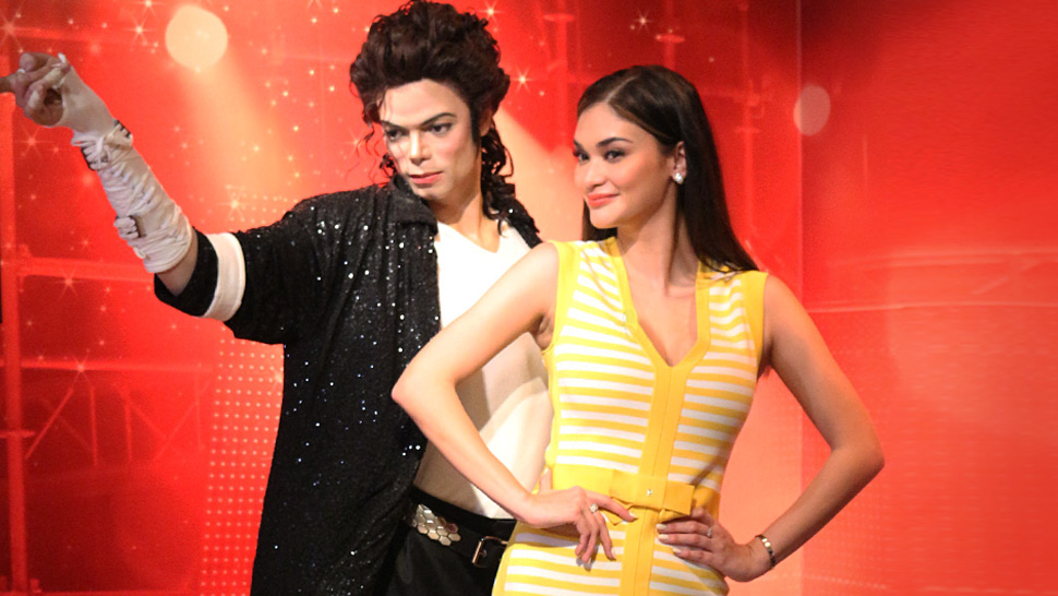 Pia Wurtzbach Just Visited MTHK to See Where Her Wax Figure Will Be Placed