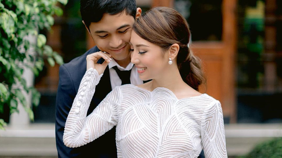 You Have To See Kryz Uy's Church Wedding Look