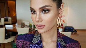 Here's What Catriona Gray Wore To Her Homecoming Press Conference
