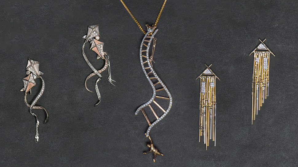 This Jewelry Collection Transforms Sculptures Into Wearable Art