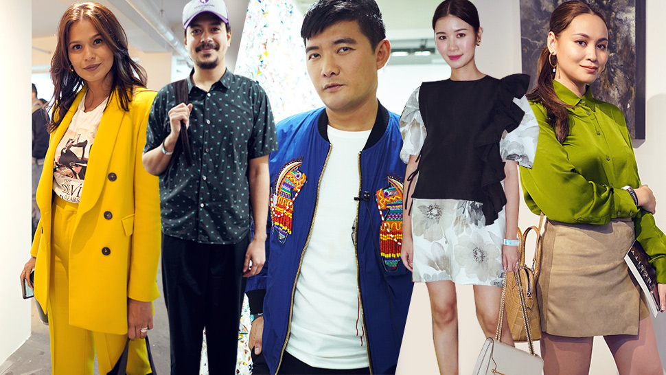See All The Stylish Guests We Spotted At Art Fair Philippines 2019