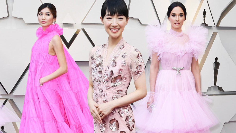 Pink Seems to Be the Biggest Trend at the 2019 Oscars Red Carpet