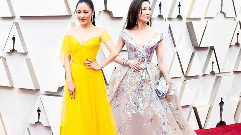 Here's What the Crazy Rich Asians Cast Wore to the Oscars 2019