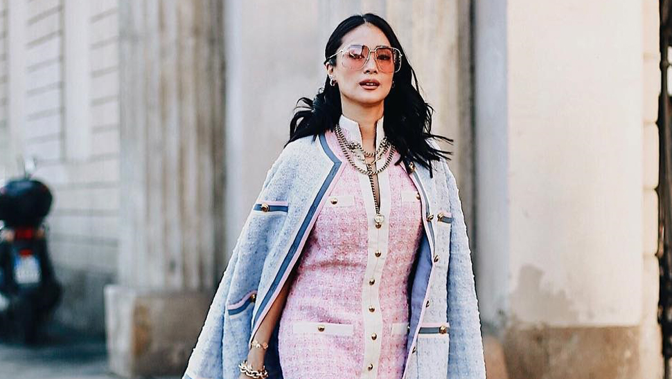 You Have To See Heart Evangelista's Outfits At Milan Fashion Week