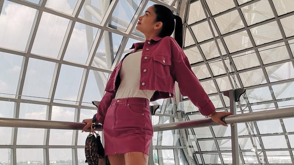 Pia Wurtzbach Has an Adorable Idea for a Travel OOTD