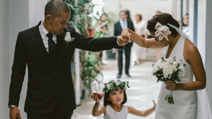 You Need To See This Couple's Intimate Minimalist Wedding