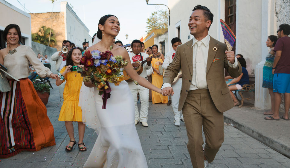 You Have To See This Filipina Artist's Super Chic Wedding In Mexico
