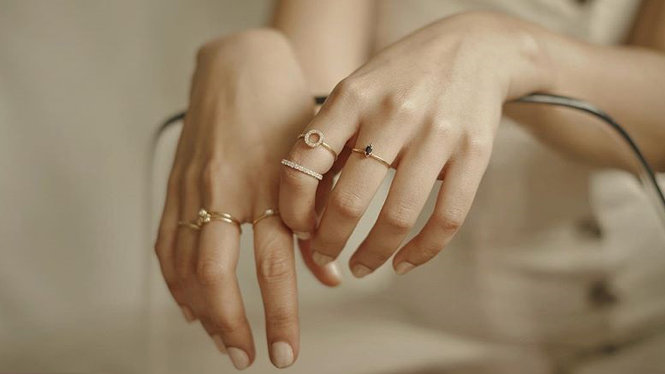 Where to Buy Thin, Delicate Rings You Can Stack on Your Fingers