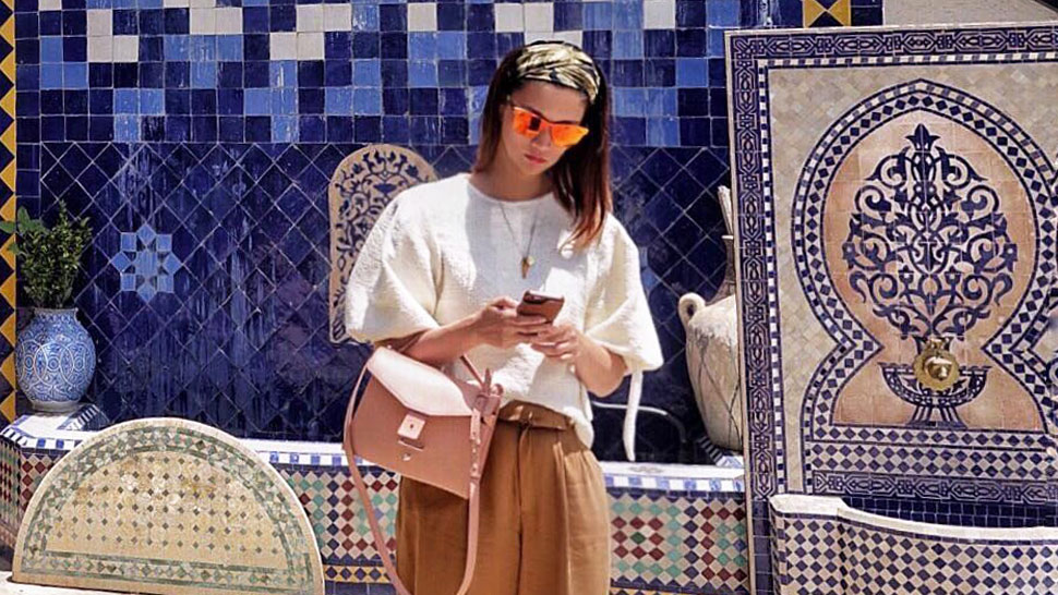 Here's How a Well-Traveled Fashion Girl Plans Her Outifts for a Trip