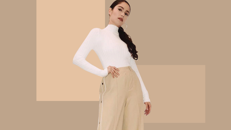 Jessy Mendiola Has A Sporty Take On The Beige Trend