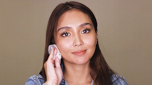 Watch Kathryn Bernardo Remove Her Makeup