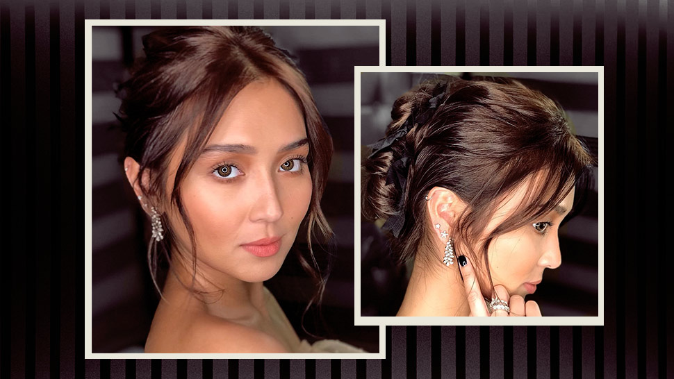 Kathryn Bernardo's Beribboned Hairstyle Is Deserving Of Its Own Award