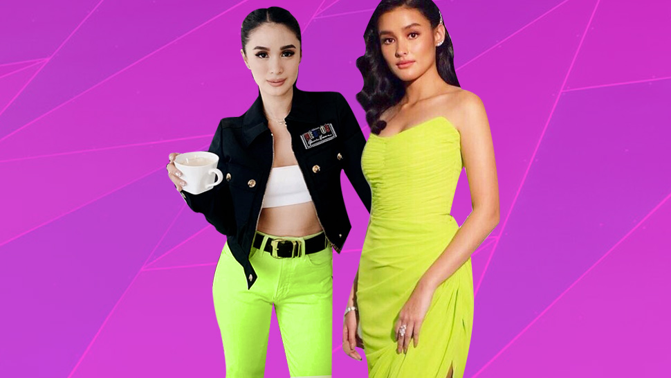 10 Celebrity-approved Ways To Sport The Neon Trend