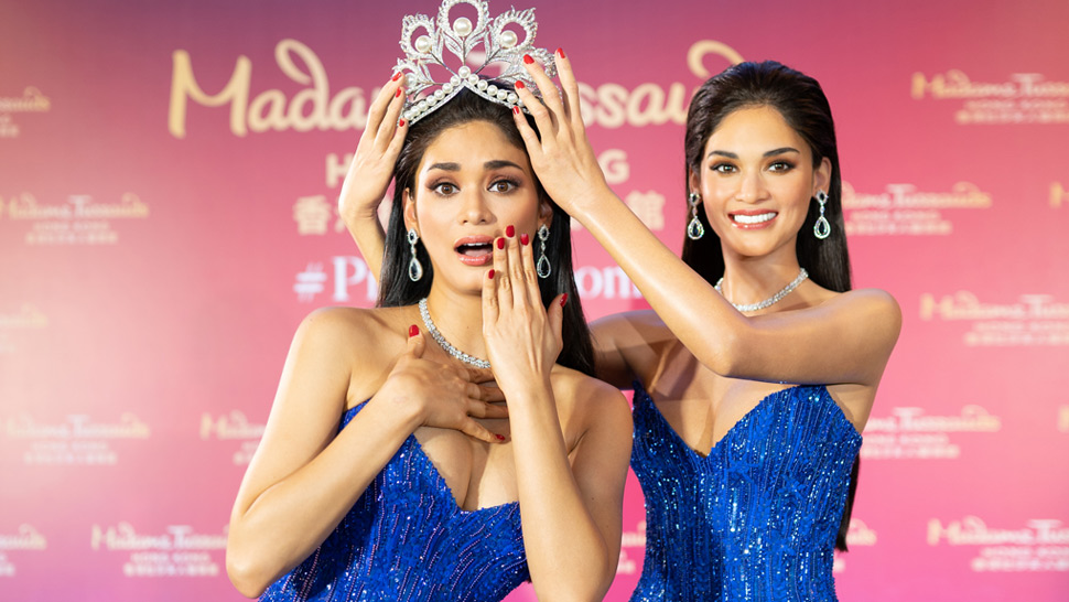 Pia Wurtzbach Finally Unveils Her Wax Figure For Madame Tussauds
