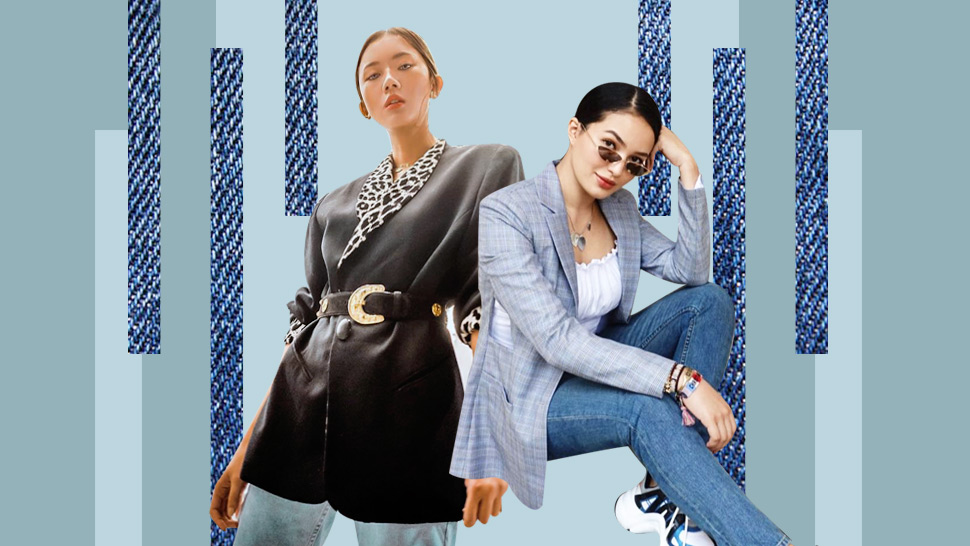 20 Chic Blazer And Jeans Ootds You Can Recreate On Casual Fridays