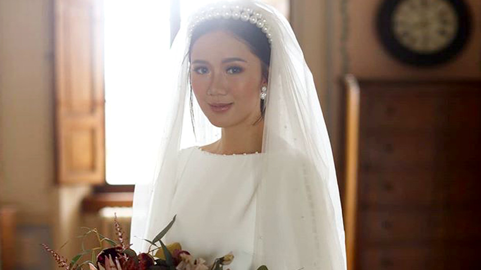 Here's The Exact Bridal Gown Camille Co Wore On Her Wedding Day