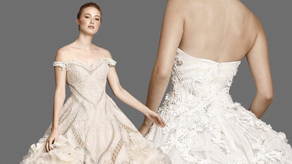Everything You Need To Know About Francis Libiran Wedding Gowns