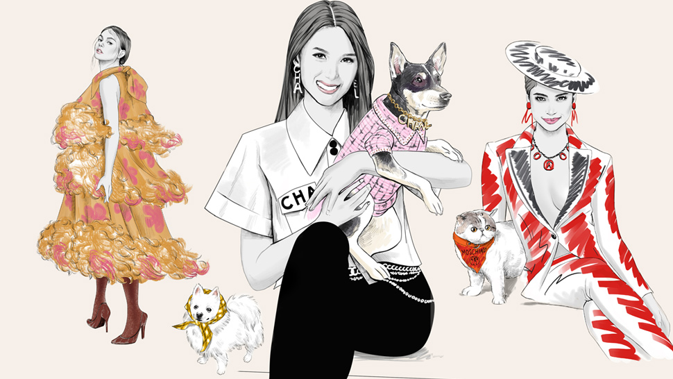 5 Fashionable Celebrities And Their Instagram-famous Pets