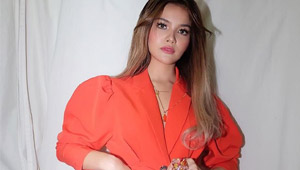 Elisse Joson's Ootd Proves That The Living Coral Trend Is Here To Stay