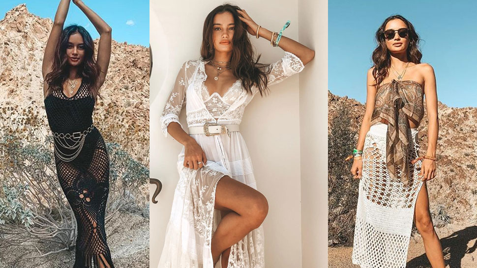 All the Outfits Kelsey Merritt Wore to Coachella 2019