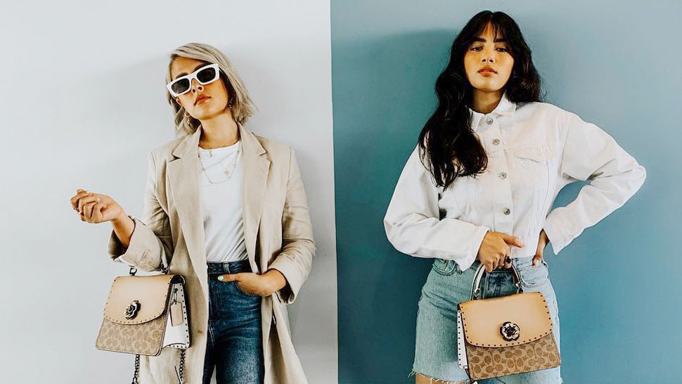Check Out How These Stylish Sisters Wore the Same Bag for Different OOTDs