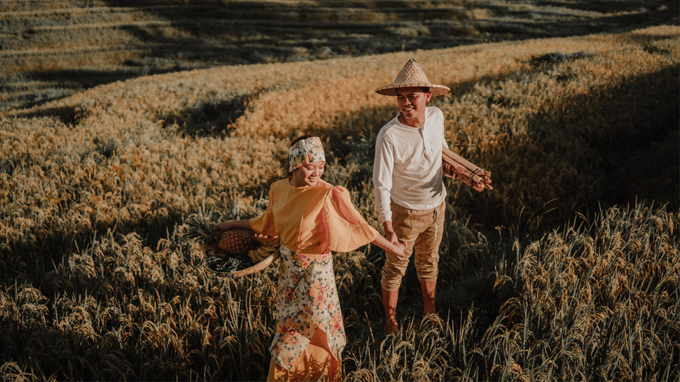 This Creative Prenup Shoot Was Inspired By Filipino Paintings