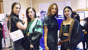 All The Stylish Guests At The Louis Vuitton Staples Edition Launch