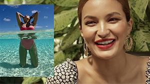 Sarah Lahbati Reveals Her Secrets To Taking Breathtaking Instagram Photos