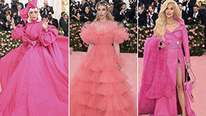 Pink Reigned Supreme As The Ultimate It Color Of The Met Gala 2019