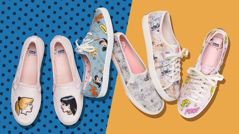 You'll Fall In Love With Keds' New Betty And Veronica Collection