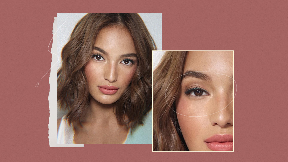 Here's The Exact Green Eyeliner Sarah Lahbati Is Wearing In This Selfie