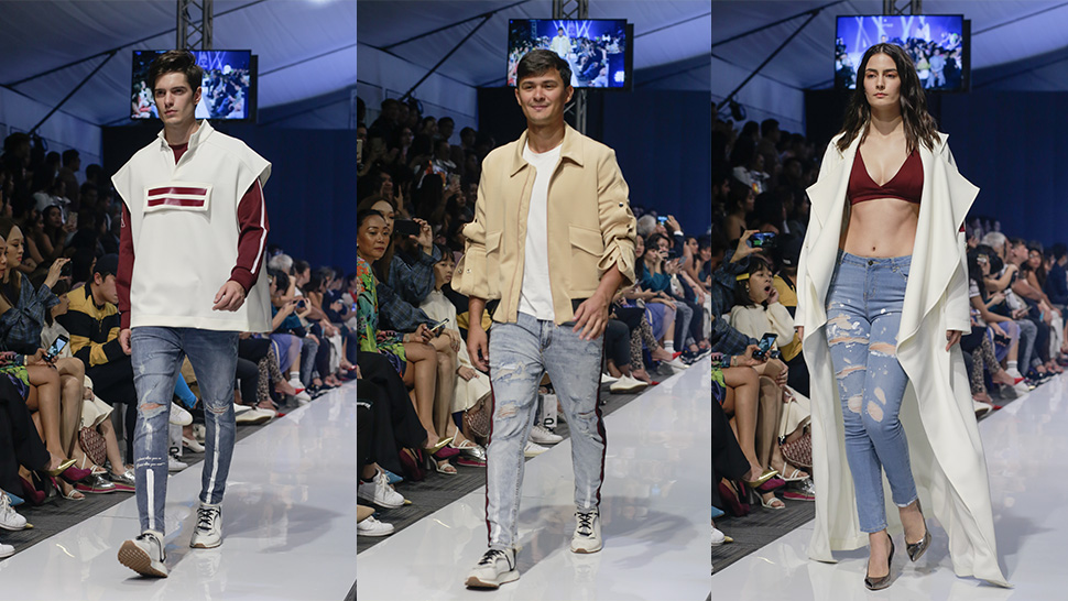 Matteo Guidicelli, Ella Pangilinan Walk the Runway in Distressed Denim and More