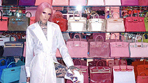 You Have To See Jeffree Star's Multi-million Dollar Pink Vault Closet