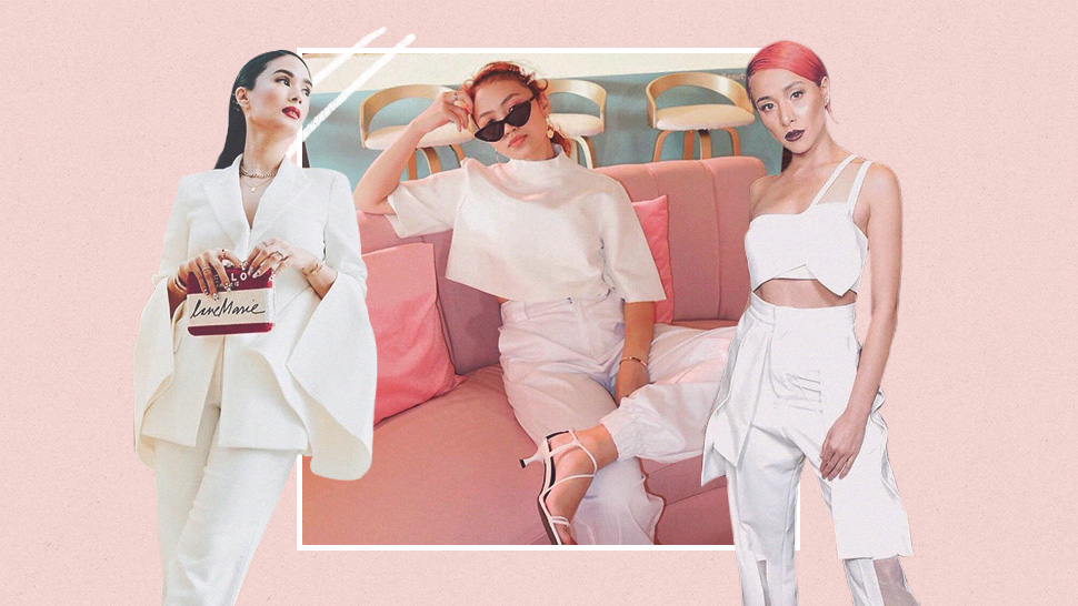 5 Fresh Ways To Wear An All-white Ootd