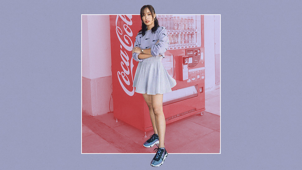 3 Cool Ways to Wear Colored Sneakers, According to Lissa Kahayon