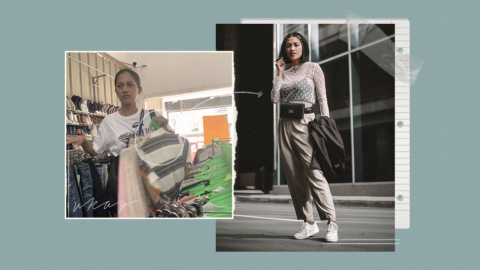 This Filipina Went Viral For Her Ukay-ukay Ootd Transformations