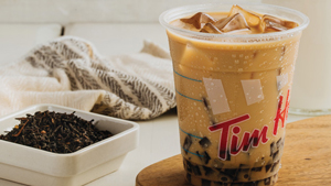 Tim Hortons Now Offers Milk Tea And It Has Coffee Jelly Instead Of Pearls