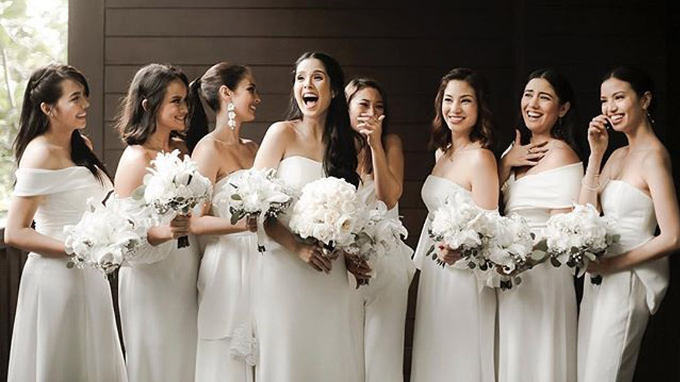 How to Pull Off an All-White Wedding