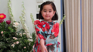 Scarlet Snow Belo Wearing Her Mom Vicki's Old Dress Is The Cutest Thing