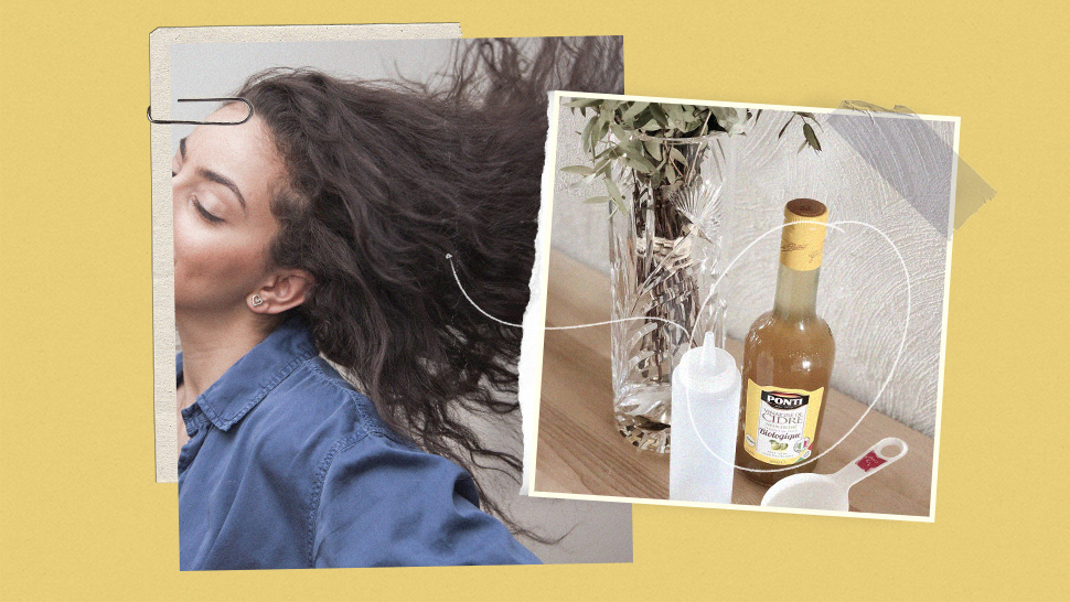I Used Apple Cider Vinegar on My Scalp for a Month to Treat Dandruff