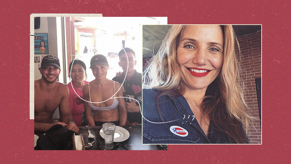 The Internet Is Confused If It's Really Cameron Diaz Who Was Spotted in Palawan